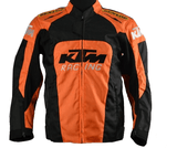 KTM Textile Jacket Motorcycle Riding Armor Protective
