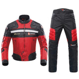 FirstGearMoto Motorcycle Jacket Red / M DUHAN Windproof Motorcycle Racing Suit