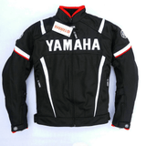 FirstGearMoto Motorcycle Jacket Red / M Yamaha Textile Motorcycle Motocross Jacket