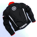 FirstGearMoto Motorcycle Jacket Yamaha Textile Motorcycle Motocross Jacket
