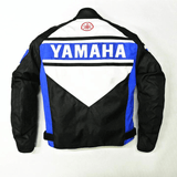 FirstGearMoto Motorcycle Jacket Yamaha Windproof Textile Jacket Full Protected
