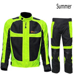 FirstGearMoto Pants and Trousers Jacket Pants Summer / XL / China Motocycle Racing Suit Jackets Pants