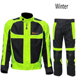 Riding Tribe JK - 21 Reflective Winter Motorcycle Waterproof Jacket