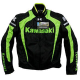 FirstGearMoto Pants and Trousers Kawasaki Textile Motorcycle Racing Suit