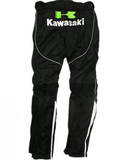 FirstGearMoto Pants and Trousers Kawasaki Textile Pants with knee protectors