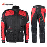 Riding Tribe Motorcycle Jacket Pants Waterproof Motocross Racing Rally Suit
