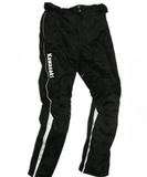 Kawasaki Textile Pants with knee protectors