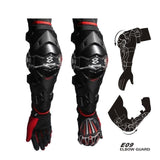 FirstGearMoto Protector China / Red / Free Size Motorcycle Knee pads Cuirassier K09 E09