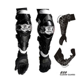 FirstGearMoto Protector China / White / Free Size Motorcycle Knee pads Cuirassier K09 E09