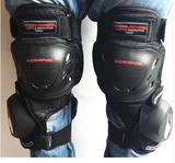 Komine Motorcycle Kneepads With Sliders
