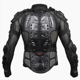 FirstGearMoto Protectors Black / L Motorcycle Jacket Full Body Protective Gear