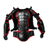 FirstGearMoto Protectors Red / S Motorcycle Jacket Body Armor Protector
