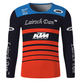 FirstGearMoto t-shirt Black / XS KTM Motocross Jersey Long Sleeve T-Shirt