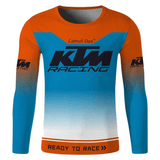 FirstGearMoto t-shirt Blue / S KTM Racing Jersey T-Shirt quick-drying and breathable