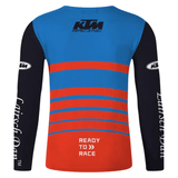 FirstGearMoto t-shirt KTM Motocross Jersey Long Sleeve T-Shirt