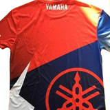 FirstGearMoto t-shirt Multi / XXS Yamaha Racing motorcycle Racing T-shirt quick-drying and breathable