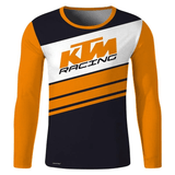 FirstGearMoto t-shirt Orange / XS KTM Long Sleeve Jersey T-Shirt