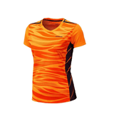 FirstGearMoto t-shirt Orange / XXL Kawasaki Women Short Sleeve T-shirt