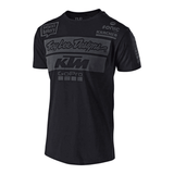 FirstGearMoto t-shirt S / Black Troy Lee Designs KTM T-Shirts
