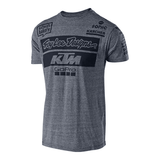 FirstGearMoto t-shirt S / Gray Troy Lee Designs KTM T-Shirts