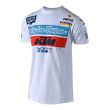 FirstGearMoto t-shirt S / White Troy Lee Designs KTM T-Shirts