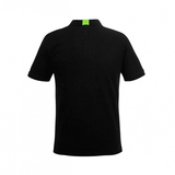 Valentino Rossi 46 Black and Green Polo T-shirt