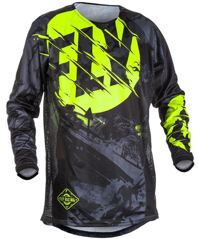 Fly Racing Dirt Kinetic Outlaw Jersey