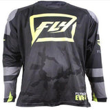 Fly Racing t-shirt Black/Gray/Yellow / S Fly Racing Evolution 2.0 Jerseys 2018
