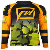 Fly Racing t-shirt Black/Orange/Green/Camo / S Fly Racing Evolution 2.0 Jerseys 2018