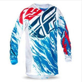 Fly Racing t-shirt Blue / XS Fly Racing Dirt Kinetic Relapse Jersey