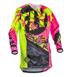 FirstGearMoto t-shirt Fly Racing Dirt Kinetic Rockstar Jersey