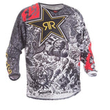 FirstGearMoto t-shirt Silver / XS Fly Racing Dirt Kinetic Rockstar Jersey