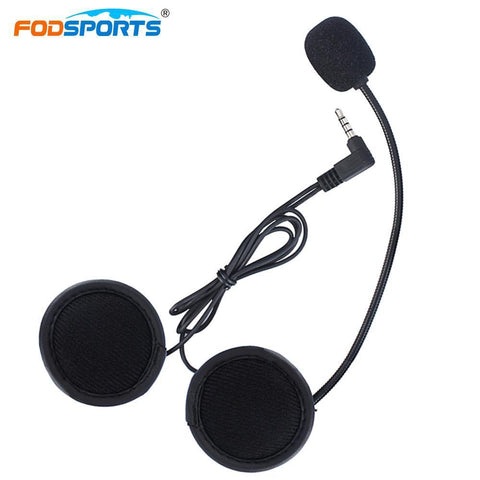 Fodsports 1pcs Bluetooth Intercom Earphone for V6-1200M V4-1200M.