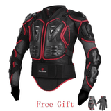 HEROBIKER Motorcycle Full Body Armor Jacket