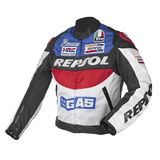 Honda Jackets Oxford blue / S Honda Repsol Motorcycle Textile Jacket with Protectors