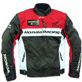 Honda Jackets S Honda motorcycle racing textile oxford waterproof jacket with hard protectors