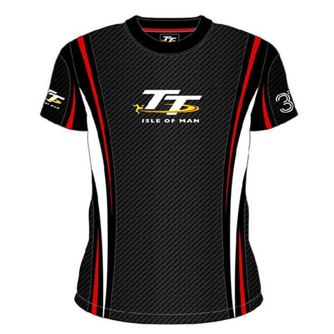 Isle of Man TT Race Dry-Fit Racing T-Shirt