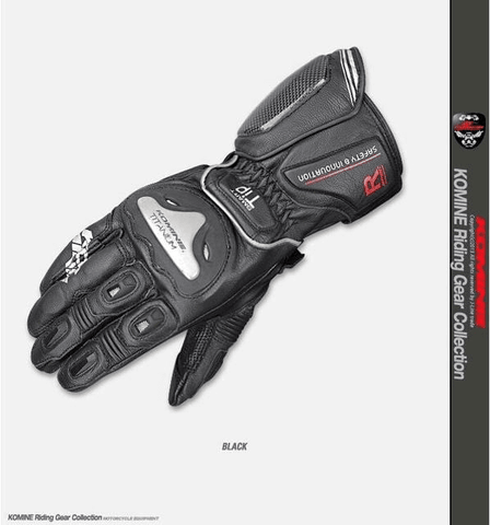 Komine GK-169 Titanium Racing Gloves Julius