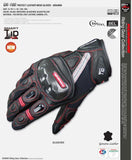 komine Gloves M / Black KOMINE GK-160 Summer Short Motorcycle Racing Gloves