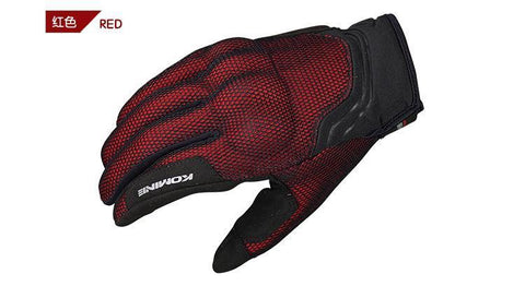 Komine GK-194 Protect 3D Mesh Motorcycle Gloves