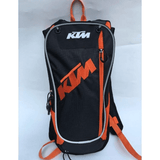 FirstGearMoto bagpack Black KTM Hydration Water Backpack