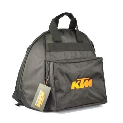 KTM Helmet Bag Motorcycle Riding Tool Bag Tail Bag Backpack