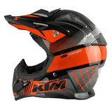 ktm Helmets L KTM Motocross Knight Helmet Official 2018