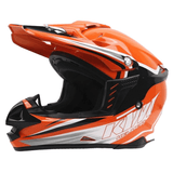 ktm Helmets L KTM Motocross Open Face Helmet Official 2018