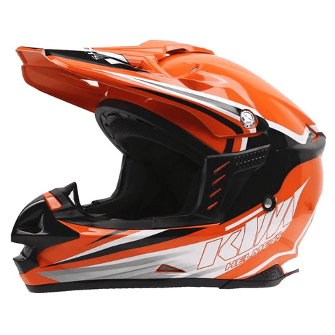 KTM Motocross Open Face Helmet Official 2018