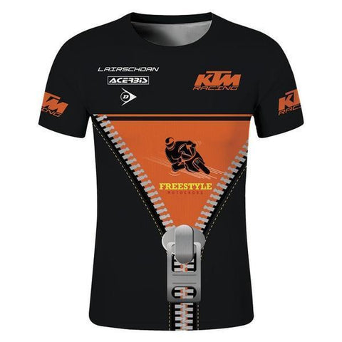 2018 LairschDan KTM FreeStyle Short Sleeve Quick Dry T-Shirt