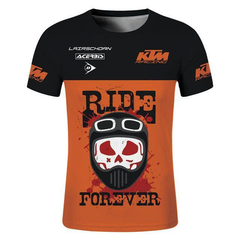 KTM Ride Forever LairschDan Motorcycle T-Shirt