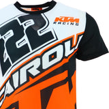 Tony Cairoli 222 Moto Cross Racing KTM Panel T-shirt Official 2018