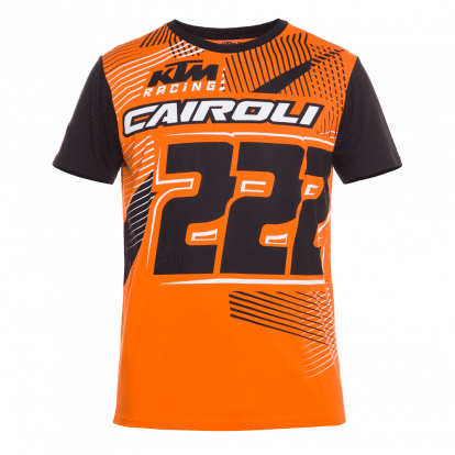 Tony Cairoli 222 Moto Cross Racing T-shirt Official 2018