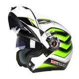 LS2 Helmets 6 / L LS2 FF370 Men Flip Up Motorcycle Helmet